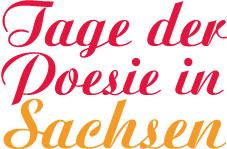 Logo - Tage der Poesie in Sachsen 2015